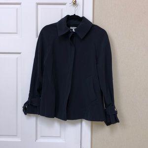 H&M Navy Swingcoat